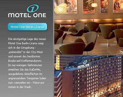 Motel one berlin tiergarten 2 sterne garni hotel alle for Motel one berlin zimmerausstattung