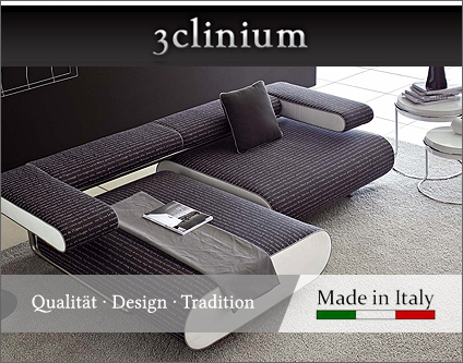 3clinium italian interior design m bel einrichtungen lampen leuchten shopping berlin www. Black Bedroom Furniture Sets. Home Design Ideas