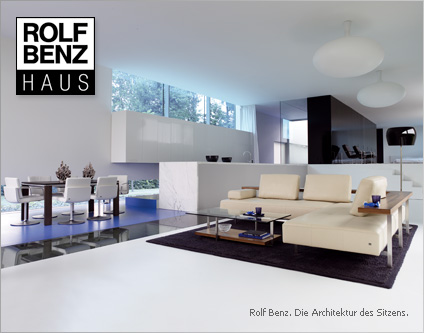 rolf benz haus exklusive m bel wohnaccessoires shopping. Black Bedroom Furniture Sets. Home Design Ideas