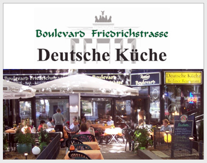 Boulevard Friedrichstrasse Coffee House Bar Restaurant