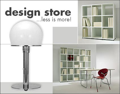 design store m bel klassiker lampen leuchten shopping berlin. Black Bedroom Furniture Sets. Home Design Ideas
